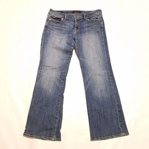 Womens Lucky Brand Sweet n' Low 12/31 A Blue Jeans